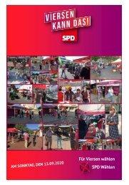 Wahlkampfzeitung der SPD Viersen