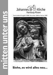 oratorium zum Mitsingen Kantaten 1 - Johannes-Kirchengemeinde ...