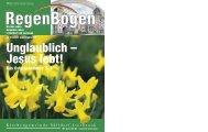 RegenBogen Unglaublich – Jesus lebt! - in der Kirchengemeinde ...