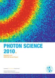 photon science 2010ª - Desy