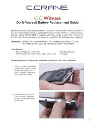 Do-It-Yourself Battery Replacement Guide - C. Crane Company