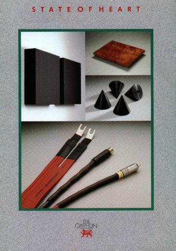 Download brochure - Gryphon Audio Designs