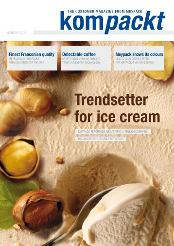 Trendsetter for ice cream - InduQuip