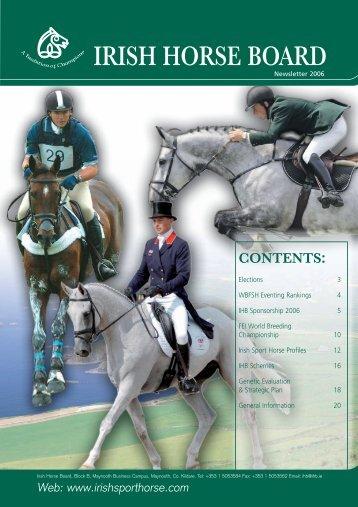 Web - Irish Horse Board