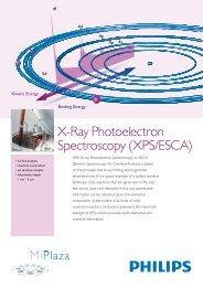X-Ray Photoelectron Spectroscopy (XPS/ESCA) - Philips Research