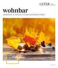wohnbar Herbst 2020 Aster
