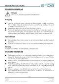 BEDIENUNGSANLEITUNG WINKELSCHLEIFER 900W - Seite 7