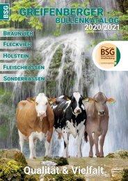 Greifenberger Bullenkatalog 2020/2021