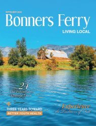 September 2020 Bonners Ferry Living Local