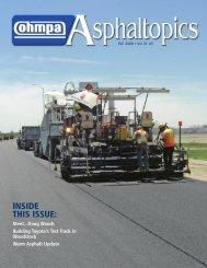 ASPHALTopics | Fall 2008 | VOL 21 | NO 3
