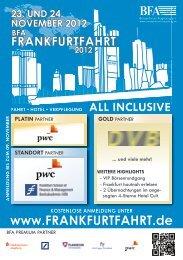 23. und 24. november 2012 - Frankfurtfahrt