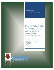 Green Vs. Solar Roof & EV Charging Station - Civil & Environmental ...