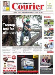 Ashburton Courier: August 27, 2020