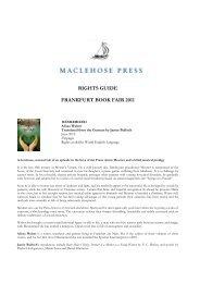 RIGHTS GUIDE FRANKFURT BOOK FAIR 2011 - Quercus Books