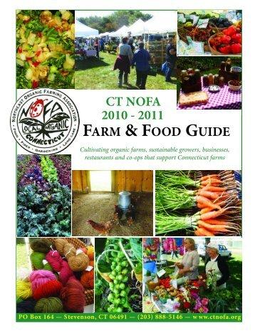 ct nofa 2010 - 2011 farm & food guide