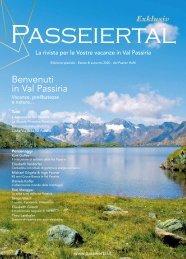 Passeiertal Exklusiv: Italienische Ausgabe: Frühling/Sommer 2020