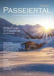 Passeiertal Exklusiv - Ausgabe: Winter 2019/2020