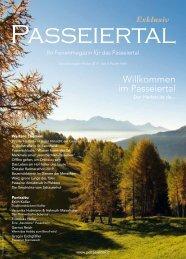 Passeiertal Exklusiv - Ausgabe: Herbst 2019
