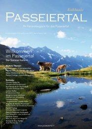 Passeiertal Exklusiv - Ausgabe: Fr/So 2019