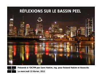 RÉFLEXIONS SUR LE BASSIN PEEL - OCPM