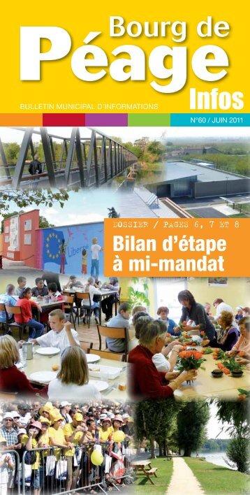 Bilan d'étape à mi-mandat (suite) - Ville de Bourg de Péage