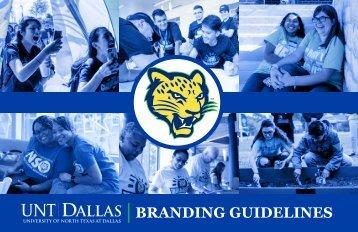 UNT DALLAS Branding Guildines