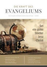 Die Kraft des Evangeliums 3/2020