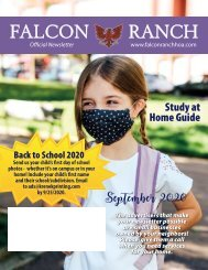 Falcon Ranch September 2020