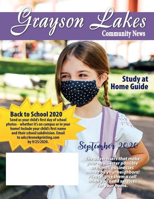 Grayson Lakes September 2020