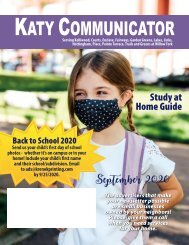 Katy Communicator September 2020