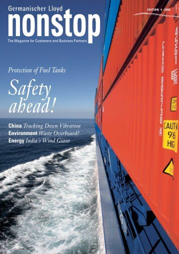 Protection of Fuel Tanks Safety ahead! - GL Group