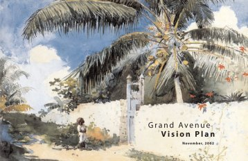 Grand Avenue Vision Plan - City of Miami