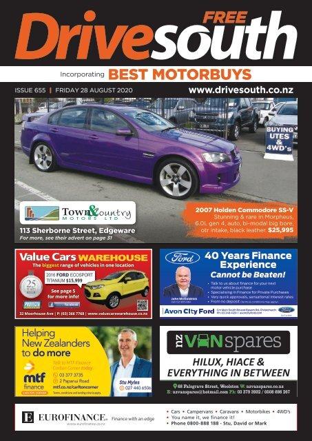 Best Motorbuys: August 28, 2020