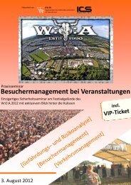 Besuchermanagement bei Veranstaltungen - Ingenieurbüro Frenz