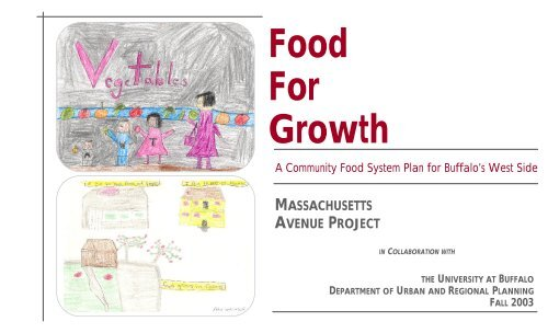 Food For Growth - New York Upstate Chapter APA