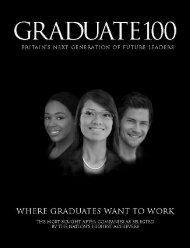ones to watch - Graduate 100