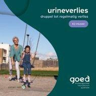 Gids urineverlies bij vrouwen - druppel- tot regelmatig verlies