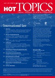 HOT TOPICS 69 > International Law - Find Legal Answers