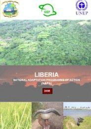 DRAFT Liberia NAPA - United Nations Framework Convention on ...