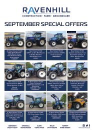 Machinery Special Offers September 2020