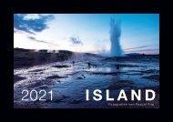 ISLAND 2021 Kalender