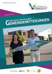 Gemeindemitteilungen 09/2020