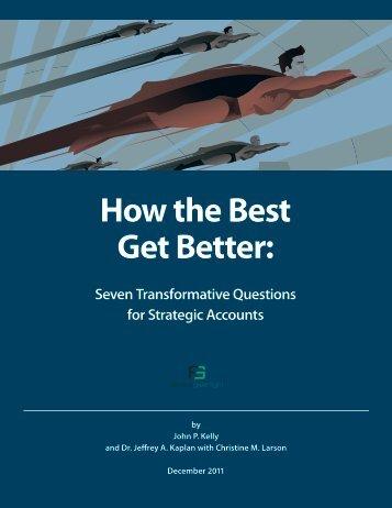 How the Best Get Better: - Viapearl