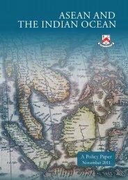 asean and the indian ocean - S. Rajaratnam School of International ...
