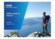 Aon Client Date SAM update - David Kirk - KPMG - September 2012 ...