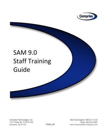 SAM 9.0 Staff Training Guide - Mid-Hudson Library System