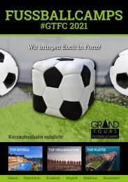 Fussballcamps 2021 - Grand Tours