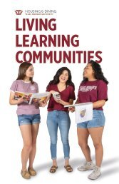 Living Learning Communities Booklet
