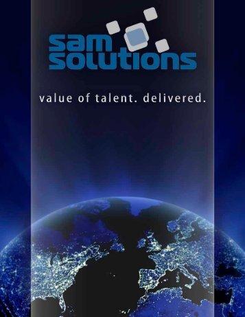 Technologies - SaM Solutions