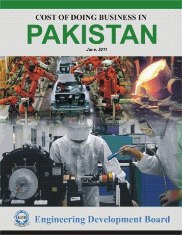 Pakistan at a Glance - Ministry of Industries & Production